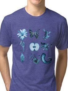 Fringe Glyphs all nine symbols Tri-blend T-Shirt