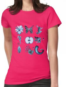 Fringe Glyphs all nine symbols Womens Fitted T-Shirt