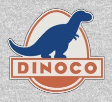DINOCO TOY STORY CARS FUEL COMPANY One Piece - Short Sleeve