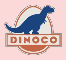 DINOCO TOY STORY CARS FUEL COMPANY One Piece - Long Sleeve