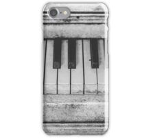 Old piano iPhone Case/Skin