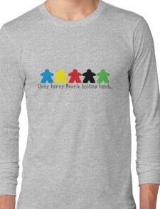 Happy Meeple Long Sleeve T-Shirt