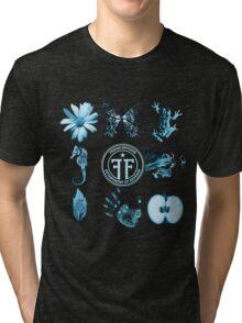 Fringe Glyphs with Division symbol Tri-blend T-Shirt