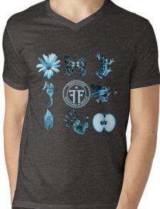 Fringe Glyphs with Division symbol Mens V-Neck T-Shirt