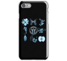 Fringe Glyphs with Division symbol iPhone Case/Skin