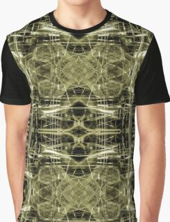 Futuristic construction pattern Graphic T-Shirt