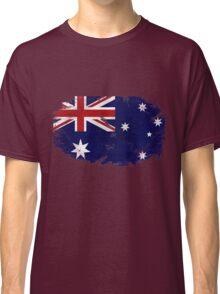 Australia Vintage Flag Classic T-Shirt