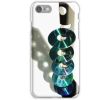Discs and Spine iPhone Case/Skin