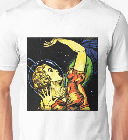 Comic Girl - 3 Pop Unisex T-Shirt