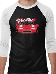 NA MAZDA MIATA JDM DESIGN Men's Baseball ¾ T-Shirt