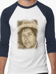 BOB DYLAN Men's Baseball ¾ T-Shirt