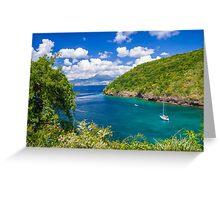 Tropical Lagoon Greeting Card