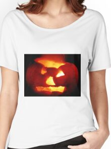 Happy Halloween Pumpkin 4: Sparks Fly Women's Relaxed Fit T-Shirt