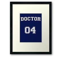 Doctor # 04 Framed Print