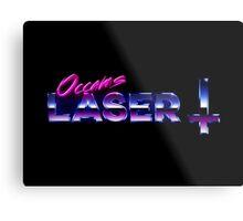 Occams Laser Chrome Cross Logo Metal Print