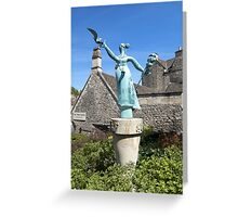 'Millie' Bradford on Avon, Wiltshire, UK Greeting Card