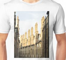 Tudor Buildings, The Backs, Cambridge, England Unisex T-Shirt