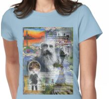 claude monet Womens Fitted T-Shirt