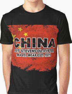 China vintage flag Graphic T-Shirt