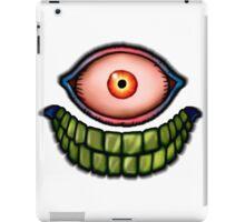 Face of death iPad Case/Skin