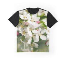 White apple tree flowers Graphic T-Shirt