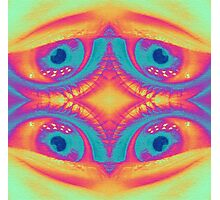 Psychedelic Eye Photographic Print