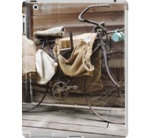 Old Bicycle iPad Case/Skin