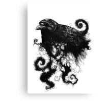 weather the crows Canvas Print