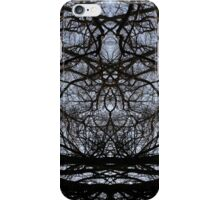 Abstract tree branches pattern iPhone Case/Skin