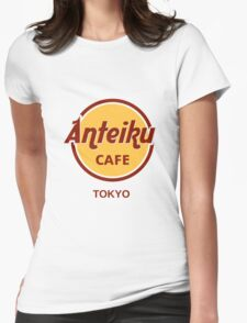 Anteiku cafe version 1. Womens Fitted T-Shirt