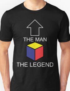 The Man The Legend Rubik's Cube Unisex T-Shirt