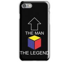 The Man The Legend Rubik's Cube iPhone Case/Skin