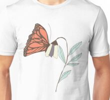 Monarch garden 008 Unisex T-Shirt