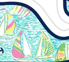 You Gotta Regatta Vineyard Vines Whale Sticker