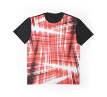 Black and red streaks Graphic T-Shirt