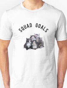 Squad Goals Kittens Unisex T-Shirt