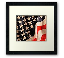 Flag Art Framed Print
