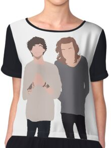 larry stylinson Chiffon Top