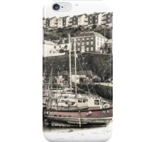 In the Harbour - Cornwall iPhone Case/Skin
