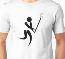 Olympic sports lacrosse pictogram Unisex T-Shirt