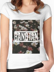 BANGTAN Women's Fitted Scoop T-Shirt