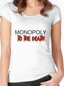 Monopoly: To the Death Women's Fitted Scoop T-Shirt