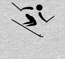 Olympic sports alpine skiing pictogram Unisex T-Shirt