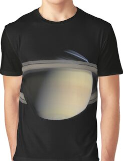 Saturn Space Image Graphic T-Shirt