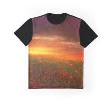 sunset landscape Graphic T-Shirt