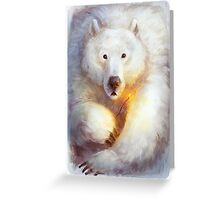 North pole party Greeting Card