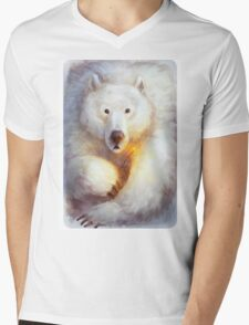 North pole party Mens V-Neck T-Shirt