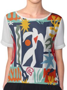 Inspired by Matisse Chiffon Top
