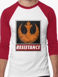 star wars resistance symbol Men's Baseball ¾ T-Shirt