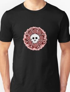 Pink and Red Skull T-Shirt